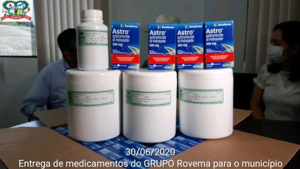 Secretaria de Saúde de Buritis recebe 100 kits de medicamentos para tratamento do COVID-19