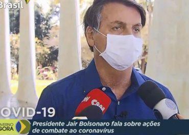 Presidente Jair Bolsonaro concede entrevista exclusiva à TV Brasil