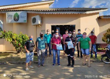 Secretaria de Meio Ambiente em parceria com o SAMU realiza treinamento de Primeiros Socorros.