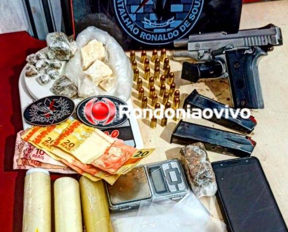 QUADRILHA: Batalhão de Choque prende bando em boca de fumo que PM foi baleado
