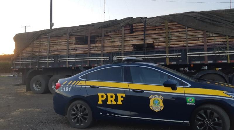 Fiscalização apreende mais de 170 metros cúbicos de madeira em Rondônia