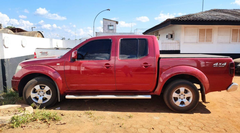 PM recupera em Rondônia caminhonete roubada no Rio Grande do Norte