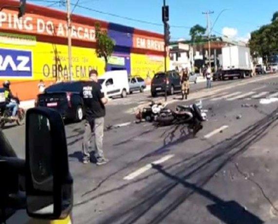 Homem tenta fugir de PM em abordagem e acaba matando motociclista