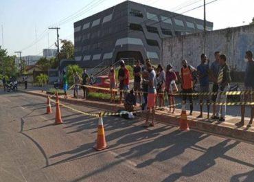 FATAL: Mulher morre após ser atropelada por BMW que fazia racha em avenida