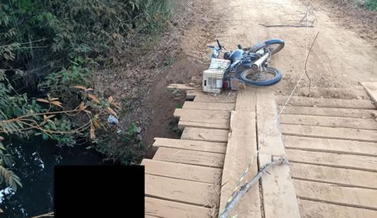 Homem é encontrado morto dentro de igarapé no interior de Rondônia