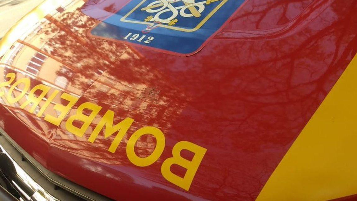 PERIGO: Carreta pega fogo na BR-364 durante a manhã deste sábado