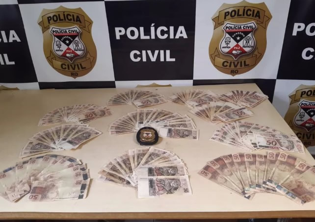 Polícia apreende cerca de R$ 10 mil em notas falsas em Rondônia