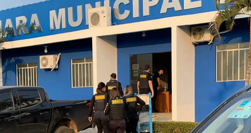 Polícia Civil cumpre mandados de busca e apreensão na Câmara de Vereadores de Urupá