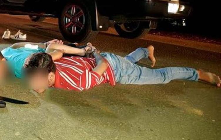 NA PONTE: Casal é amarrado e amordaçado durante roubo de veículos; PM prende bando
