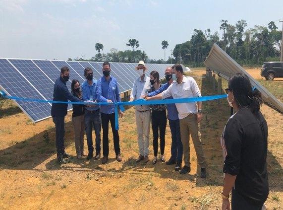 BURITIS: Maior usina de energia solar de RO é inaugurada com capacidade de 6Mwp de geração