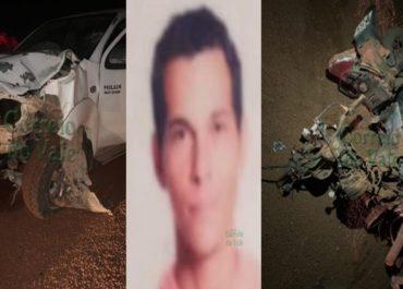 RO-267: Grave acidente entre motocicleta e camionete deixa uma vítima fatal