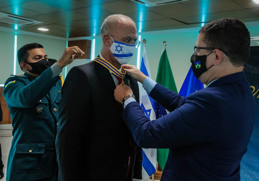 Embaixador de Israel é homenageado com Medalha Marechal Rondon