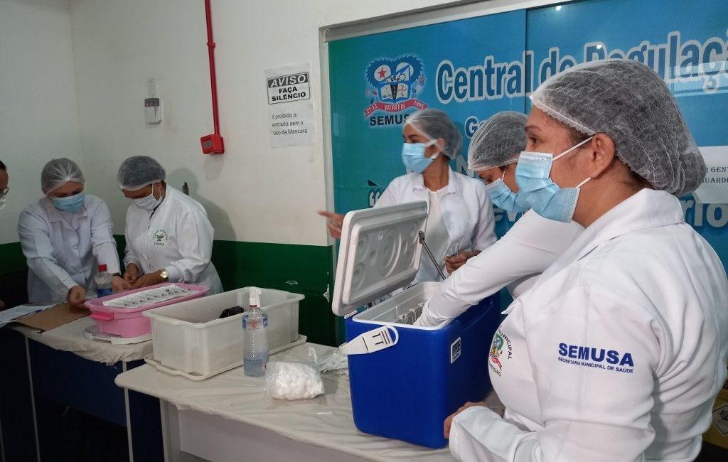 Buritis começa imunização contra Covid-19