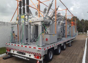 Com investimentos de R$ 7,8 milhões, segunda subestação móvel de energia chega a Ji-Paraná