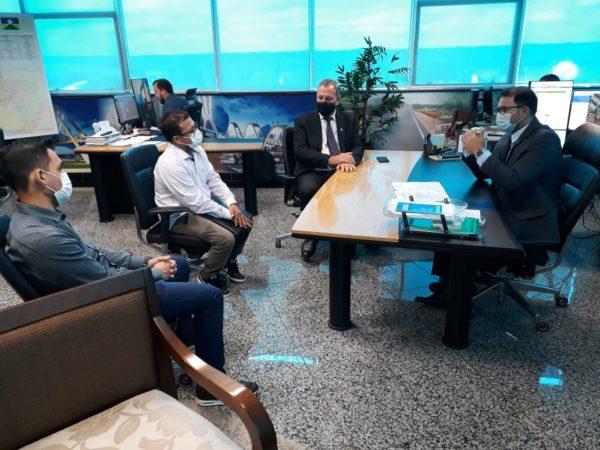 Deputado Adelino Follador se reúne com diretor geral do DER