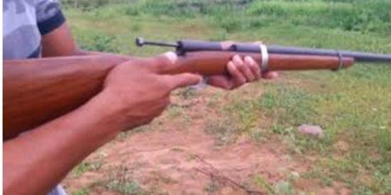 BURITIS: Filho quebra o braço do pai com coronhada de espingarda e tenta alvejá-lo com tiro por herança