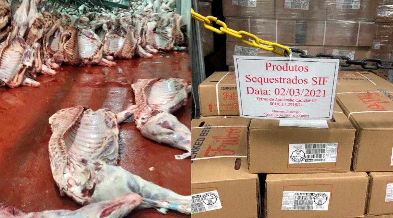 SIF determina descarte da carne contaminada com amônia no frigorífico JBS de Pimenta Bueno