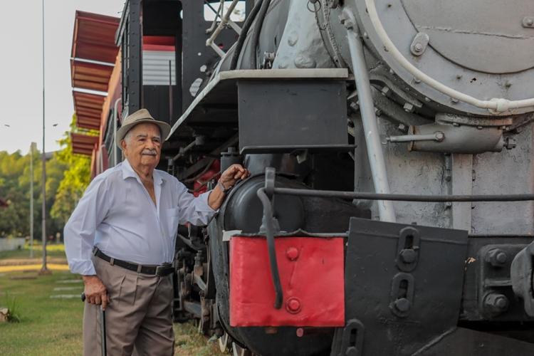 CELEBRAÇÃO: Aos 104 anos, Armando é uma alegre testemunha da história de Porto Velho