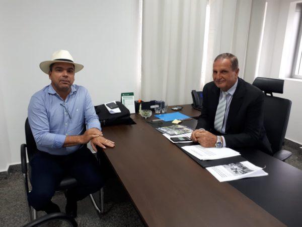 """Buritis recebeu R$ 100 mil de emenda do deputado Adelino Follador para """"Programa Nosso Peixe"""""""