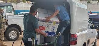Chegada de 40.500 mil doses de vacinas contra a covid-19 em Rondônia