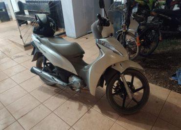 PM recupera em Guajará-Mirim motocicleta roubada em Ariquemes