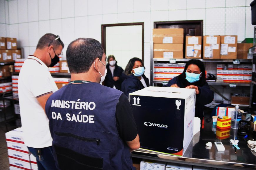 Rondônia recebe mais uma remessa de vacina contra a covid-19